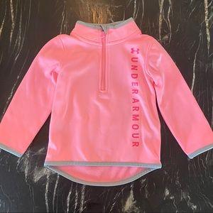 Under Armour Hot Pink Half Zip